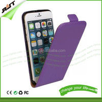 For iphone 5 5s pu leather phone case factory price mobile case for iphone 5 6 leather flip case