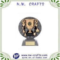 Custom ice hockey resin trophy