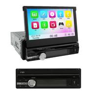 "support 3g wifi bt phonebook 1 din autoradio with dvb-t gps pip car dvd player 7"" universal dvd"