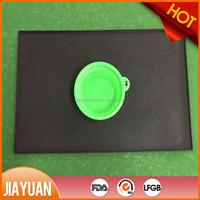 silicone rubber dog bowl mat & dog feeding mat
