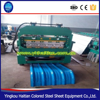Carport With Arched Roof Panel Curving Machine, sheet bending machine