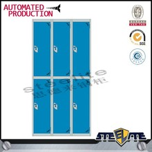 Steel self opening box cabinet/push open cabinet/top 6 openings cabinet