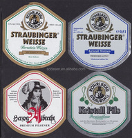 High quality customized printed paper labels for beer bottles and vodka