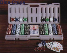 Deluxe Poker Chips with case, Casino Poker Chips Set