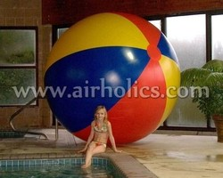 Wholesale High Quality Promotion Best Quality Logo Printed Inflatable Giant Beach ball W3037