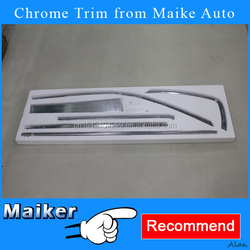 Full Car Shiny Strip Door Trimming Strip for Toyota Trimming accessories for Toyota Prado 2010+ auto tuning accessories