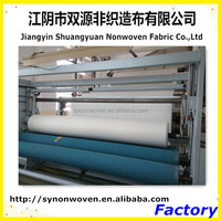 one of auto headliners materials --spunlace nonwoven fabric