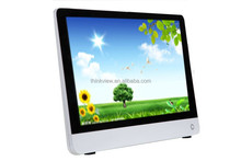 Wholesales 21.5 inch cheap LED Intel Dual Core all in one keyboard pc