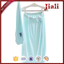 environmental plain dyed bamboo bath towel for women
