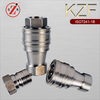 KZF iso 7241-1 series b stainless steel female thread hydraulic quick release coupler
