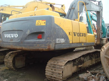 Second hand used volvo 210 excavator for sale/ middle-east hot needed volvo excavator