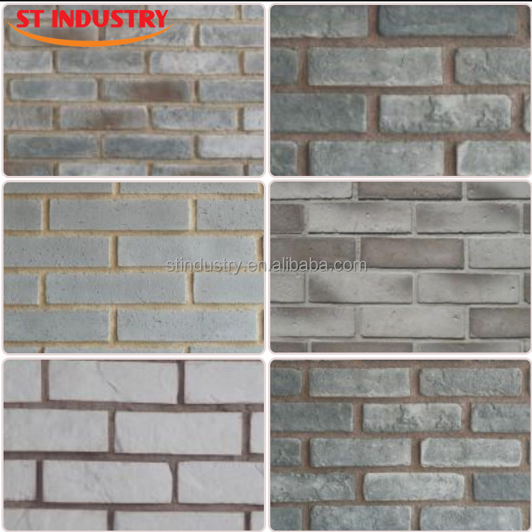 China manufacture lowest price decorative fireproof white - Brick decorative wall panels ...