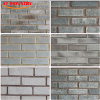 China manufacture lowest price decorative fireproof white faux exterior brick wall panels