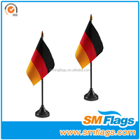 best selling custom table flag royal enfield vintage flag rod with flag in brassr
