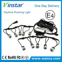 Widely car used flexible shape led drl day light with Emark certificate