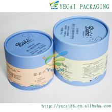 luxury kraft paper round tea boxpaper tea box paper tube tea box