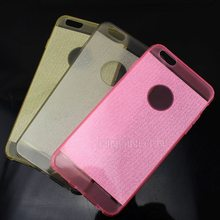 New Arrived Fashion Mobile Phone Case,Shining Glitter Tpu Back Cover for iphone 6 Plus Bing Case