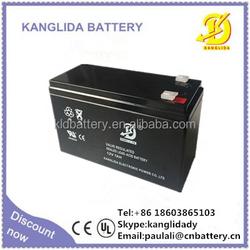 rechargeable vrla batteries, 12v7ah sealed lead acid battery for alarm system