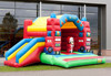 top selling fire truck inflatable combo slide, inflatable combo, inflatable castle with slide