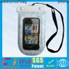 pvc wholesale for iphone waterproof bag with white
