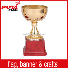 Cheap hotsale classical model metal trophy cups/soccer awards trophies