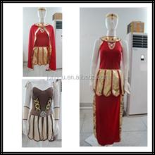 Roman Spartan Queen Xena Warrior Gladiator Halloween Womens Fancy Dress Costume