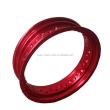china alloy Red 125cc dirt bikes 14 inch bike rims