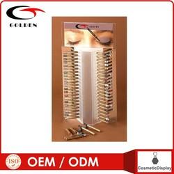 2014 wholesale acrylic eyebrow pencil cosmetics display stand