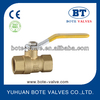 BT1015 NPT PN40 full bore Brass Ball valve high quality supplier