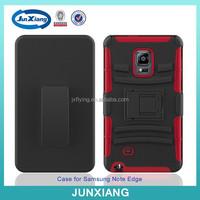 China suppliers heavy duty hybrid rugged case for samsung galaxy note edge n9150