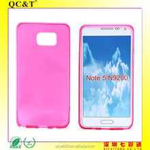 2015 new product Hot Selling Solf jelly cover cell phone cases for samsung galaxy Note 5 N9200 best price