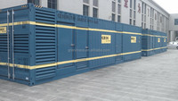 [GRANDNESS] 1250kva with Cummins KTA50-G3 ISO Standard 40 feet Containerized 1mw diesel generator 1000kw container generator