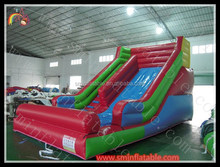 China cheap pvc inflatable toboggan slide used for amusement park