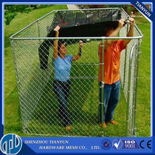 cheap factory direct hot sale portable temporary construction chain link fence for dog / horse