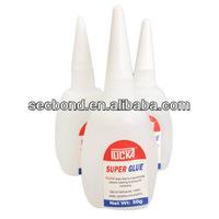 50g super glue in plastic bottle for banner