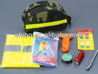 Car emergency tool kit;DIN13164 emergency kit.auto emergency tool