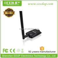 Wholesale high power 150M alfa 802.11g free driver outdoor wireless usb wifi adapter for macbook air EP-MS8518