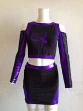 OEM manufacturer prictice custom hiqh quality cheerleading apparel