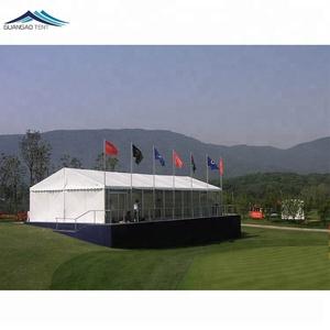 60 personnes conception spéciale haute pic chapeau forme shade tente, rong neige chargement mixte chapiteau tente