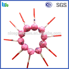 Hot selling customer packing fruity flavor candy lollipop