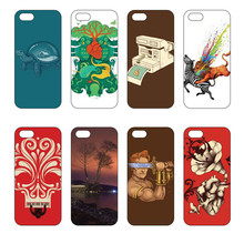 High quality Christmas Gift Cover Case DIY Geometric Pattern Phone Shell Painting Phone Cover Case For Samsung S5/i9600