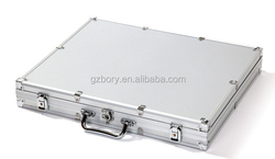 Portable aluminum shockproof ultrathin 7mm right corner tool case