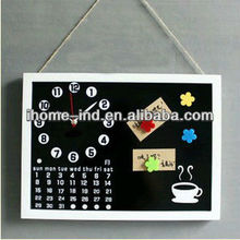 Acrylic wall clock with magnet moved digital