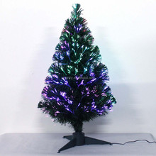 Fashional hot sale led fiber optic christmas tree