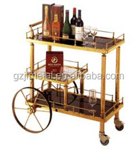 Liquor Trolley for hotel/restaurant/food service equipment/catering cart