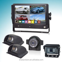 9 inch rear view camera system for bus