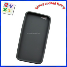 Flexible silicone custom sex girl mobile phone case i-glow mobile phone case rubber cell phone case