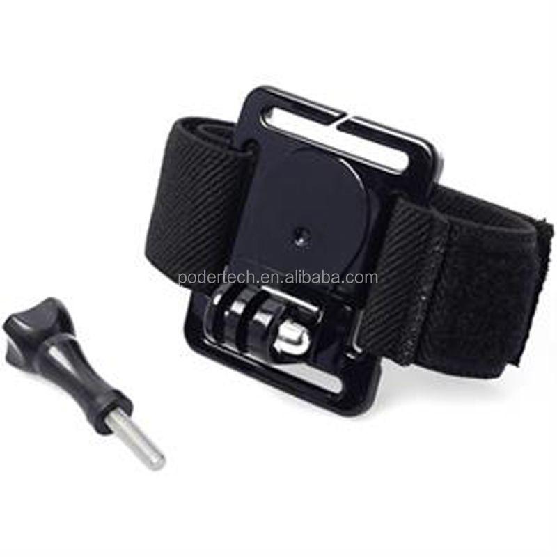 Wrist strap mount
