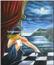 Hand Painted Girls Pictures