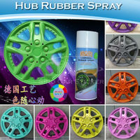 400ML/Bottle Removable Liquid Rubber Acrylic Protective Coating Spray For Car Wheel
